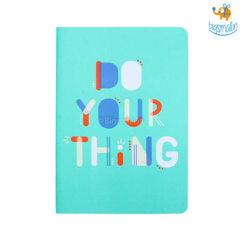 Do Your Thing Ruled Notebook - bigsmall.in