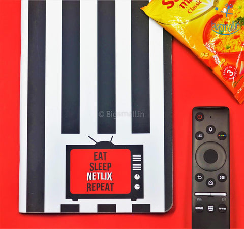 Netflix Ruled Notebook - bigsmall.in