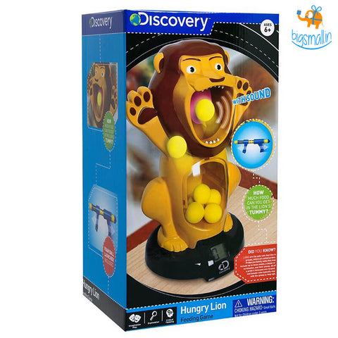 Hungry Lion Feeding Game By Discovery