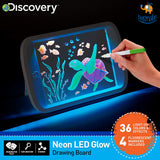 Neon LED Glow Drawing Board