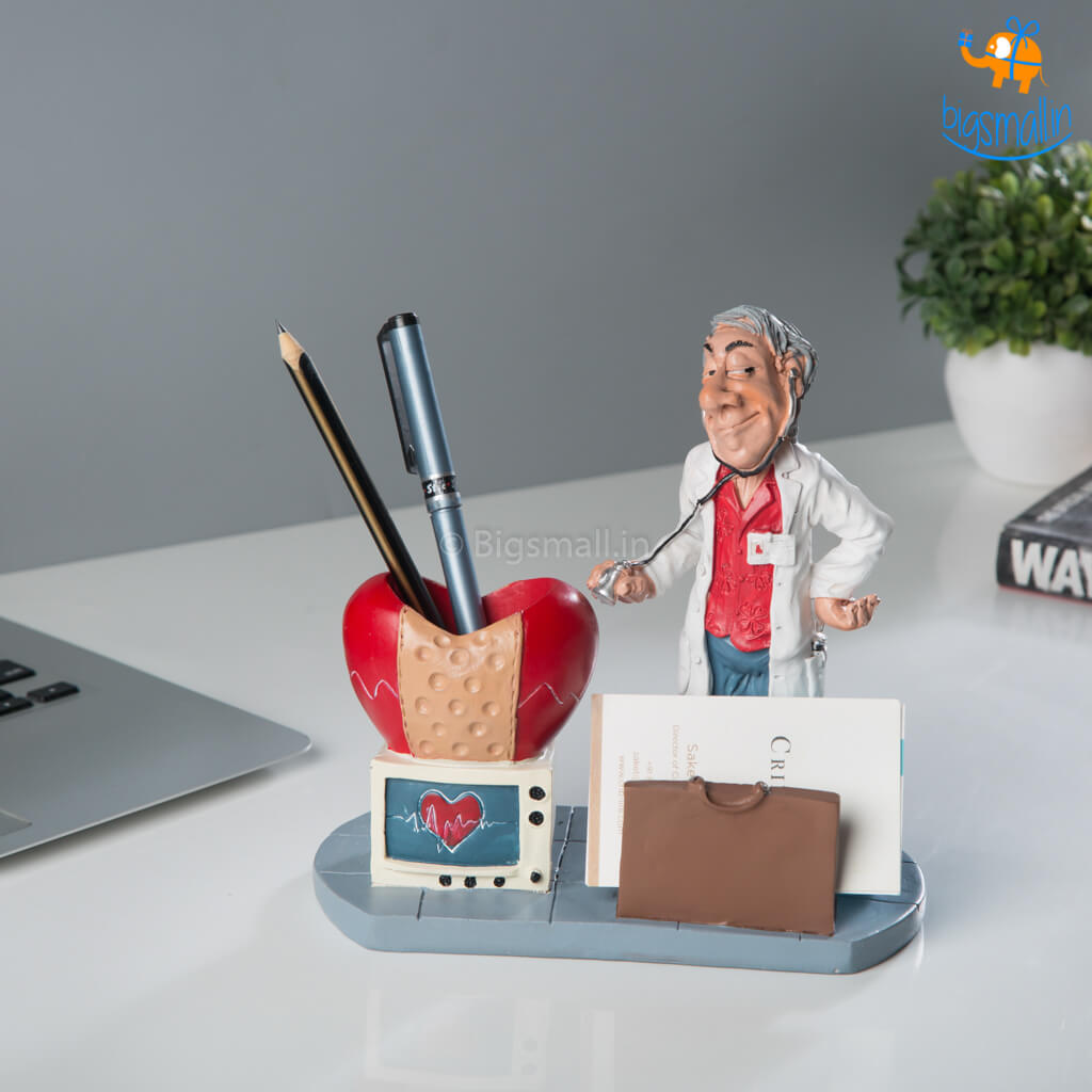 Doctor Desk Stationery Holder