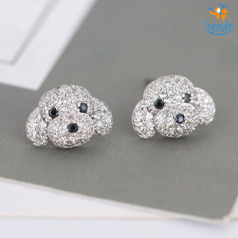Doggo Bling Ear Studs - bigsmall.in