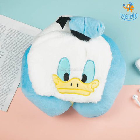 Donald Duck Hoodie Neck Pillow
