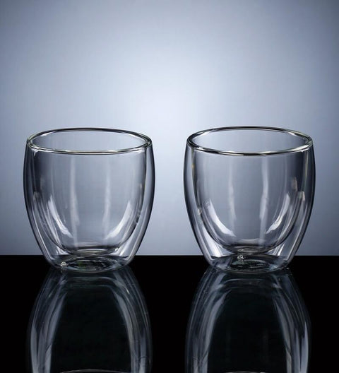 Double Wall Glass - Set of 2 - bigsmall.in
