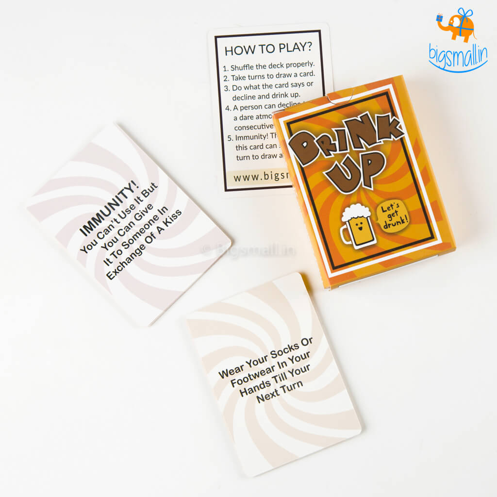 Drinking Game Cards - New Edition– Bigsmall.in