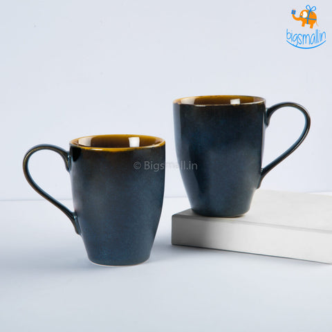 Dusted Glossy Coffee Mugs - Set of 2