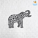 DIY Wooden Art Puzzle - Elephant