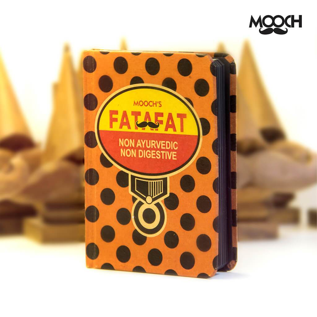 Fatafat A6 Notebook With Elastic - bigsmall.in
