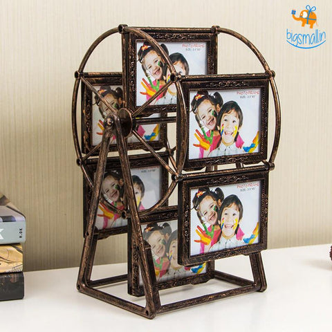 DIY Ferris Wheel Photo Frame