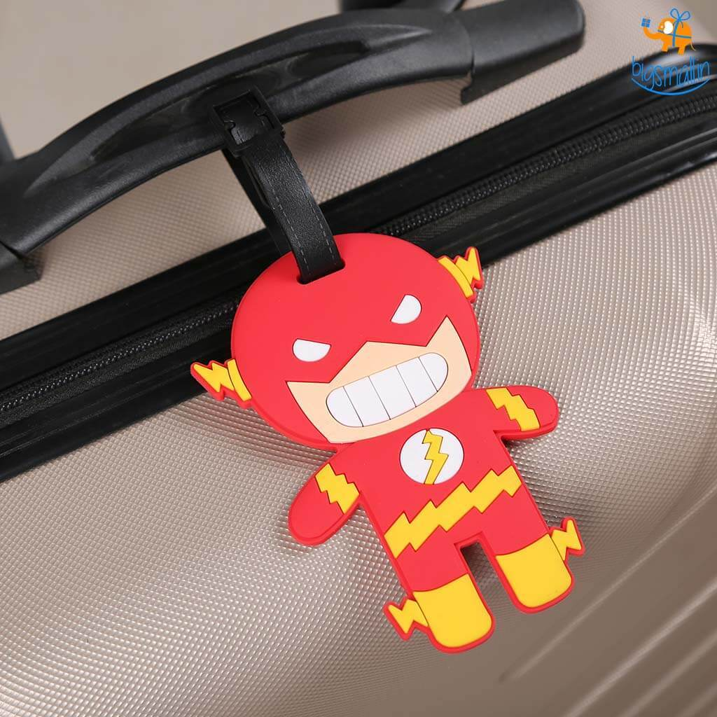 The Flash Luggage Tag