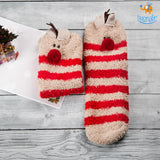 Fluffy Christmas Socks - bigsmall.in