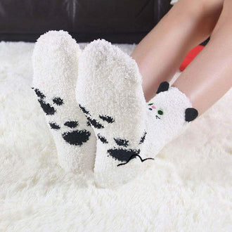 Fluffy Cushion Socks