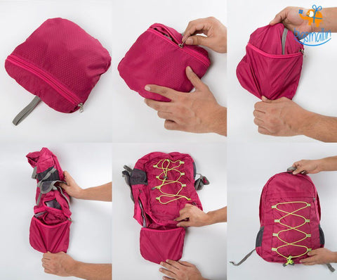 Foldable Backpack - bigsmall.in