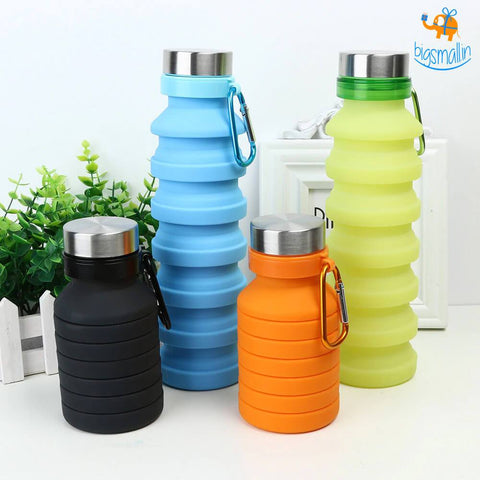 Foldable Travel Water Bottle - bigsmall.in