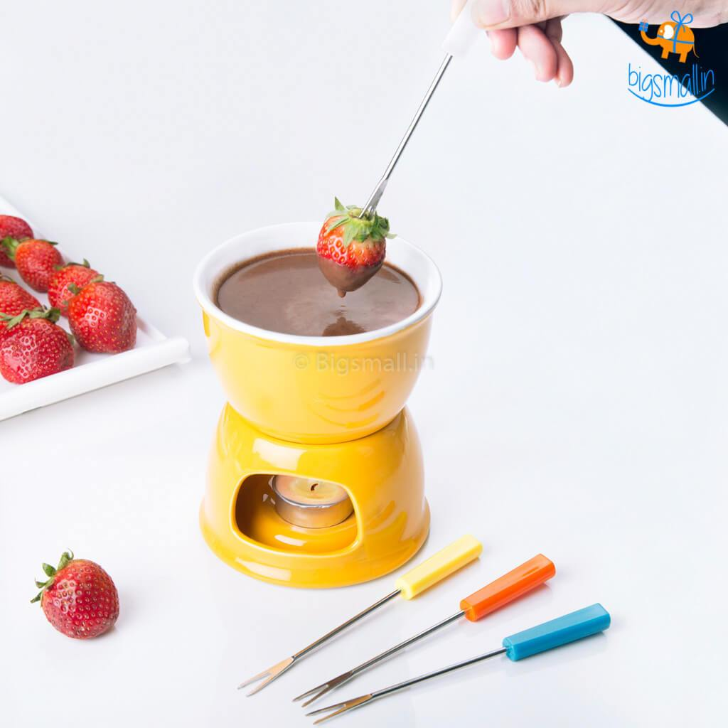 Ceramic Fondue Set - bigsmall.in