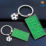 Football Field Metallic Keychain - bigsmall.in