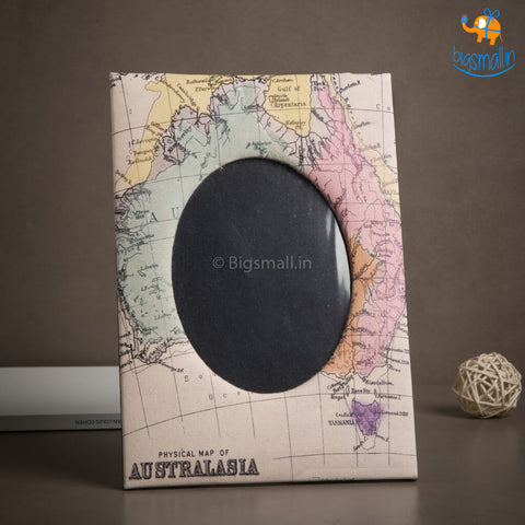 Australasia Map Photo Frame