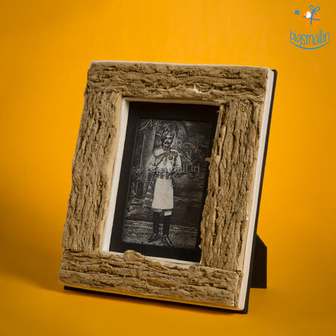 Wooden Brown Photo Frame
