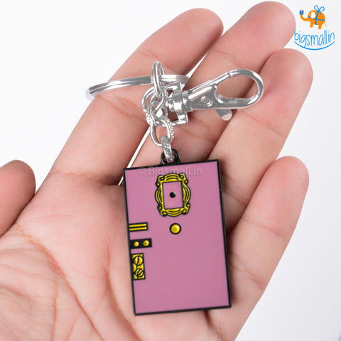 Purple Door Friends Keychain