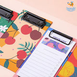 Fruity Clipboard With Checklist