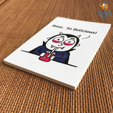 Vampire Chilling Notebook - bigsmall.in
