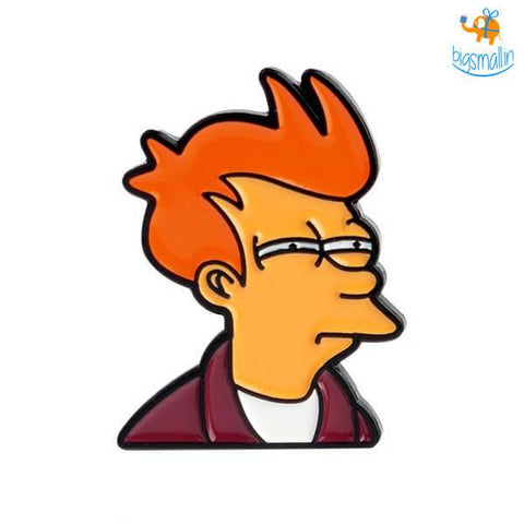 Fry From Futurama Lapel Pin - bigsmall.in