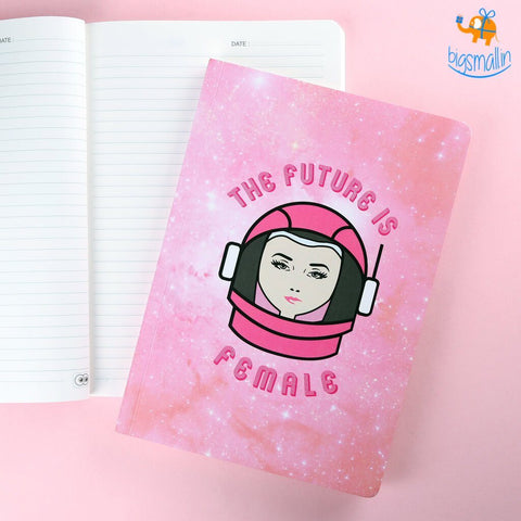 Future is Female - Notebook - bigsmall.in