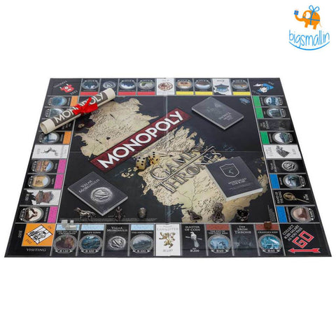 Monopoly - Official Game of Thrones Collector's Editions