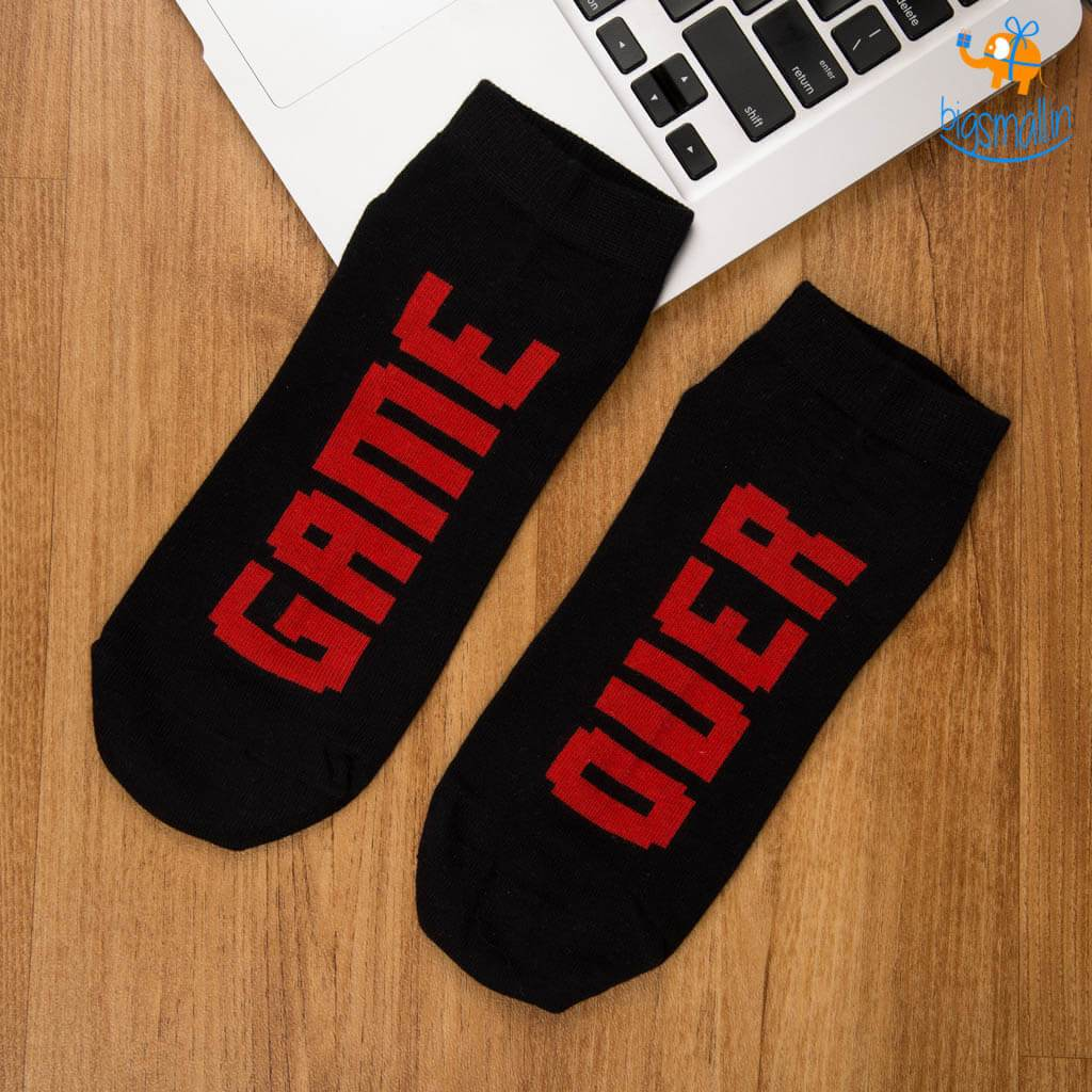 Game Over socks - bigsmall.in