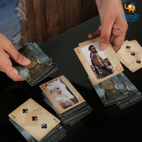 Game of Thrones Playing Cards - bigsmall.in