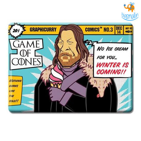 Game Of Cones Fridge Magnet