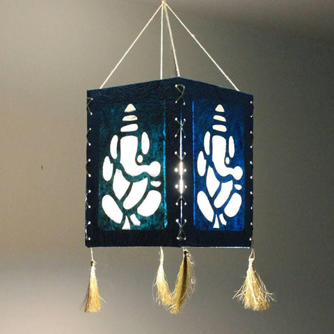 Ganesh Lantern - Set of 2 - bigsmall.in