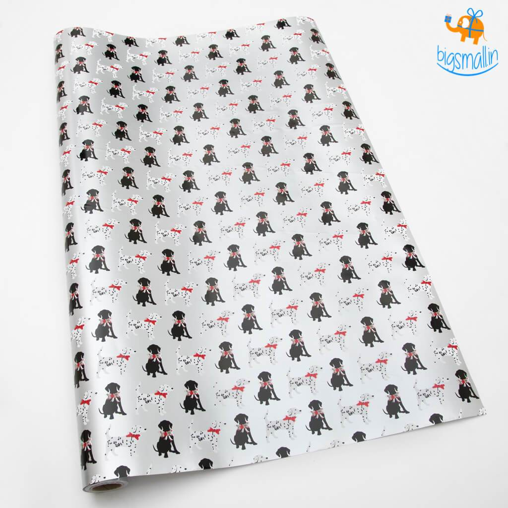 Doggo Gift Wrapping Paper Roll - bigsmall.in