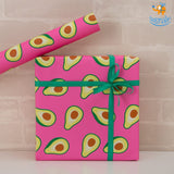 Avocado Gift Wrapping Paper Roll - bigsmall.in
