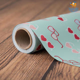 Hearty Sunglasses Gift Wrapping Paper Roll - bigsmall.in