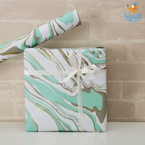 Abstract Pattern Gift Wrapping Paper Roll - bigsmall.in