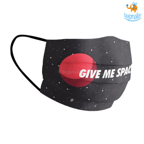 Give Me Space Cotton Mask With Filter