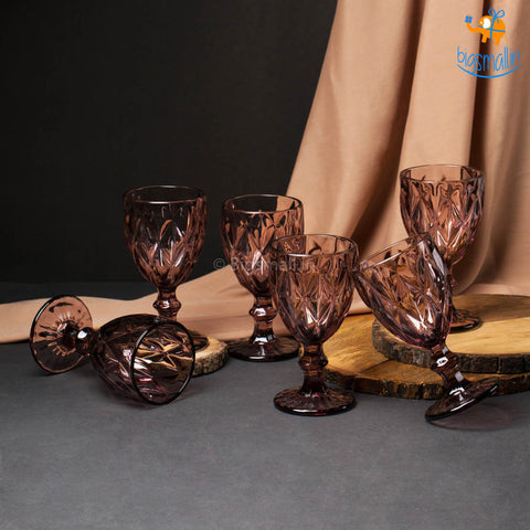 Rose Tinted Glasses - Set of 6