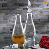 Oil & Vinegar Glass Dispenser Set