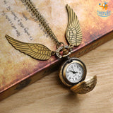 Official HP Snitch Necklace with Watch - bigsmall.in
