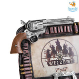 Vintage Pistol Photo Frame - bigsmall.in