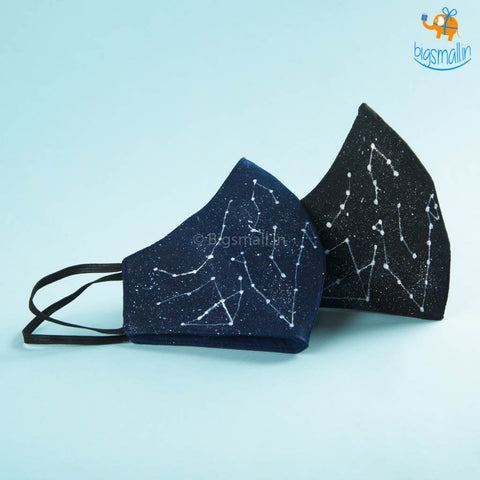 Hand-Painted Constellation Mask