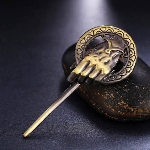 Hand of the King Brooch