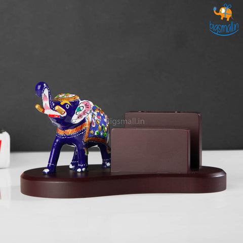 Wooden Hand-Painted Elly Phone Holder
