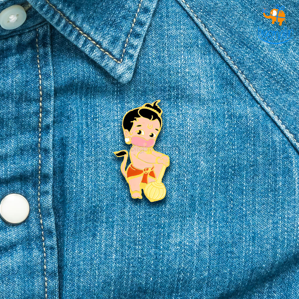 Little Hanuman Lapel Pin