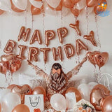 Happy Birthday Foil Balloons - bigsmall.in