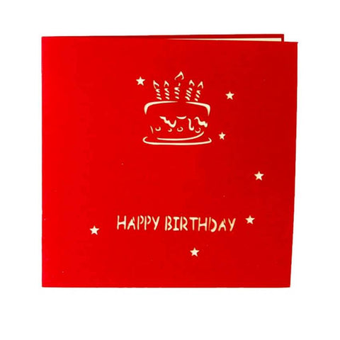 Birthday Pop up Card - bigsmall.in