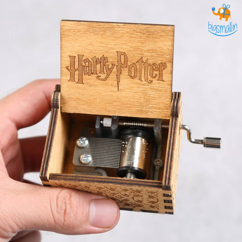 Harry Potter Wooden Music Box - bigsmall.in