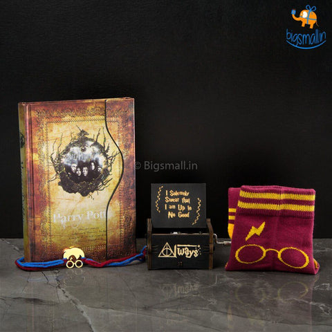 Harry Potter Rakhi Gift Set - bigsmall.in