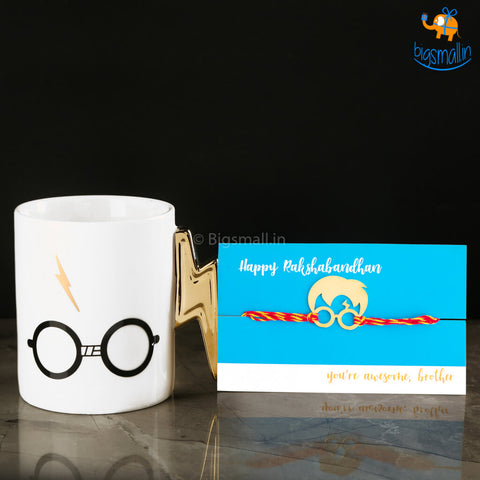 Harry Potter Rakhi Gift Set - 2 pc